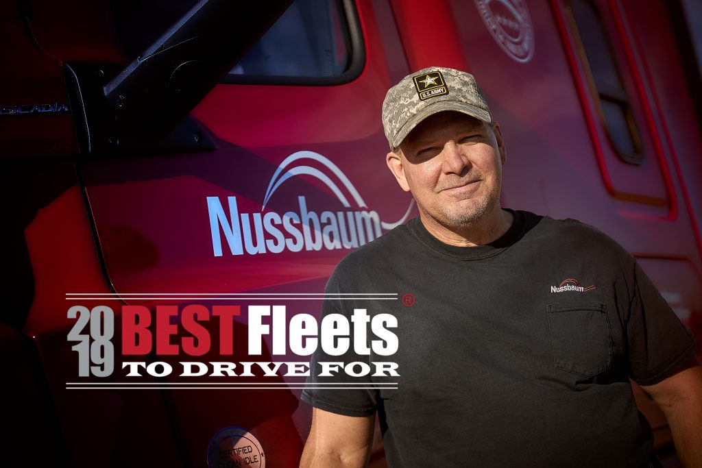 Nussbaum Recognized as one of the 2019 Best Fleets to Drive For