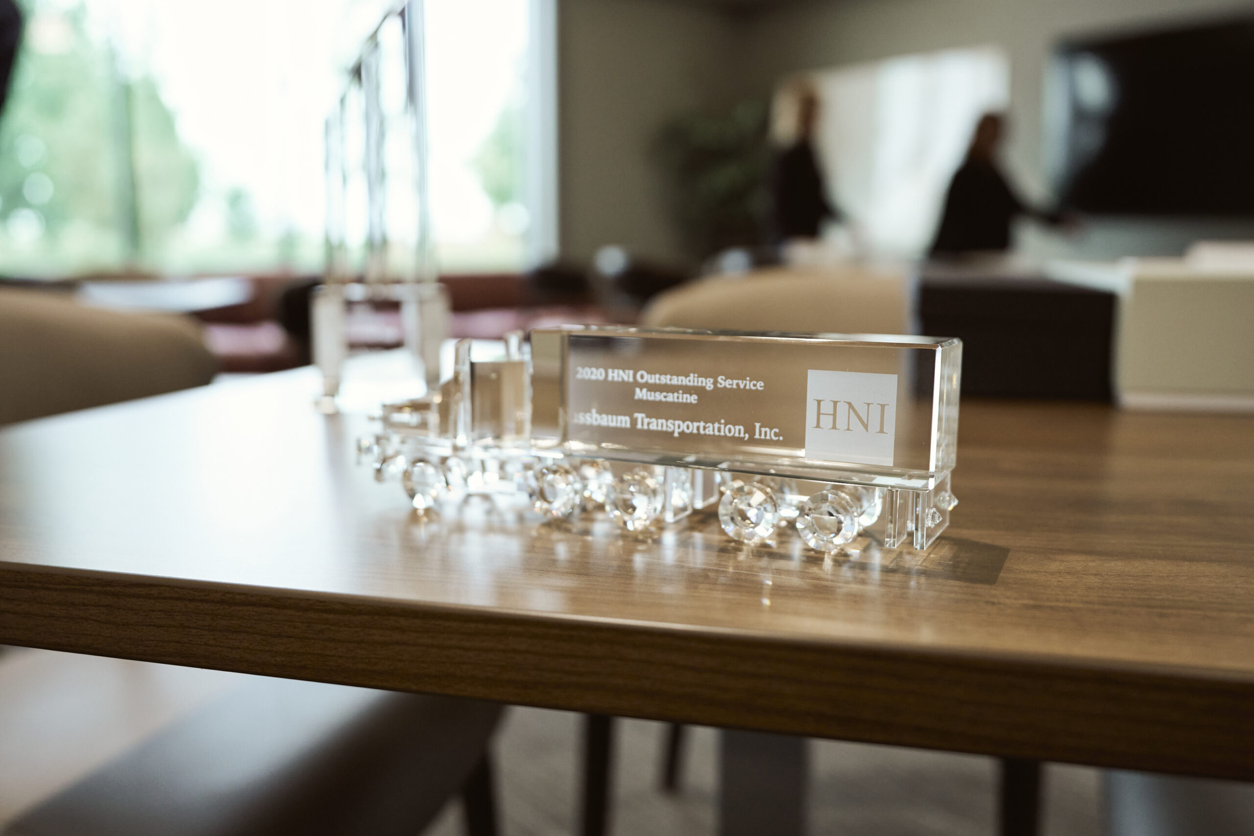 Nussbaum is HNI's 2020 Carrier of the Year