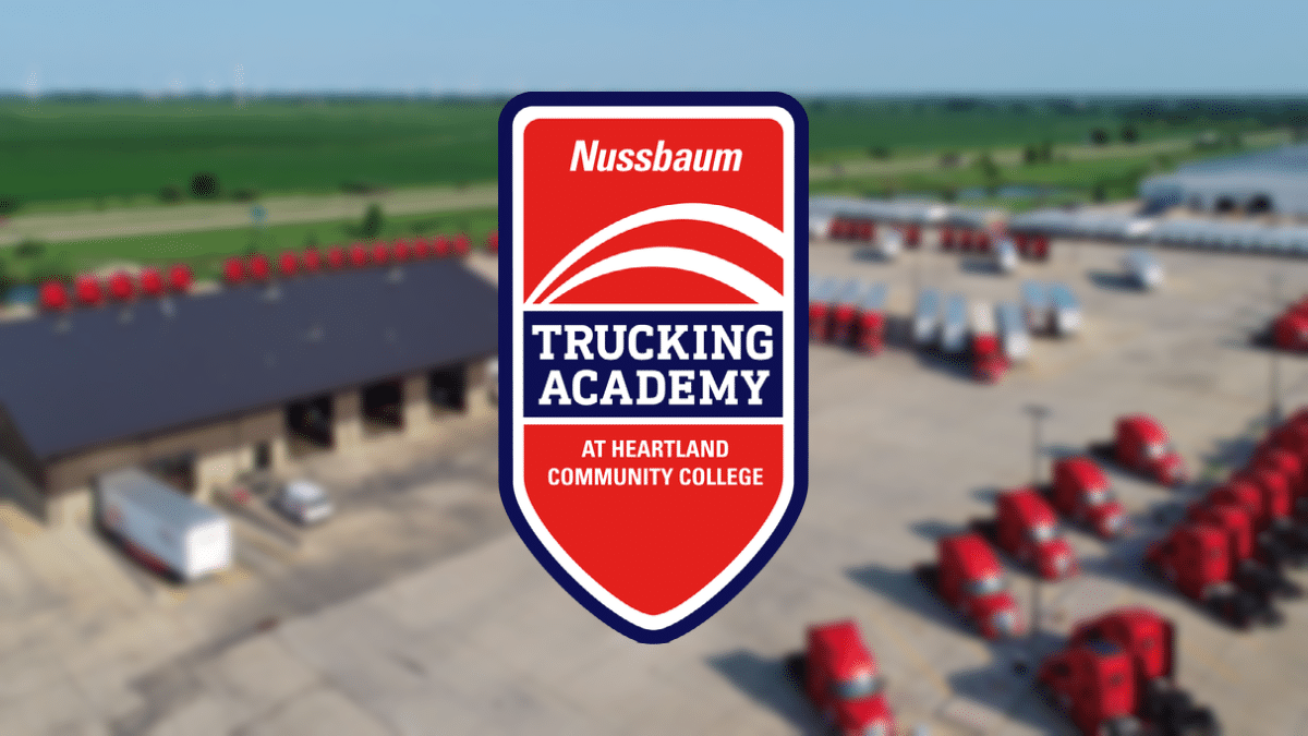 Nussbaum Trucking Academy at Heartland Community College – Coming October 2021!
